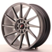 Cerchio lega Japan Racing JR22 18x7,5 ET40 5x112/114 Hyper Black Antracite scuro