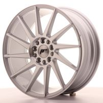 Cerchio lega Japan Racing JR22 17x8 ET35 4x100/114 Silver Machined Argento diamantato