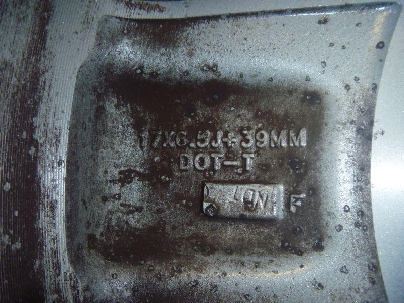 "RL55 Cerchi in lega originali Jeep 17""  5x114.3"