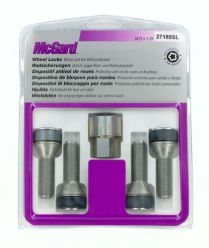 Bulloni conici, kit 4 pz - Ultra High Security - A070 McGard MG27185SL