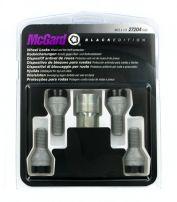 Bulloni conici, kit 4 pz - Black Edition - A100 McGard MG27204SUB