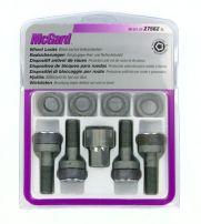 Bulloni con rondella conica, kit 4 pz - Ultra High Security - C010 McGard MG27562SL
