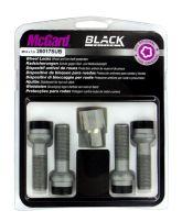Bulloni sferici, kit 4 pz - Black Edition - E130 McGard MG28017SUB