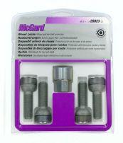Bulloni sferici, kit 4 pz - Ultra High Security - E050 McGard MG28023SL