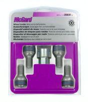 Bulloni sferici, kit 4 pz - Ultra High Security - E020 McGard MG28028SL